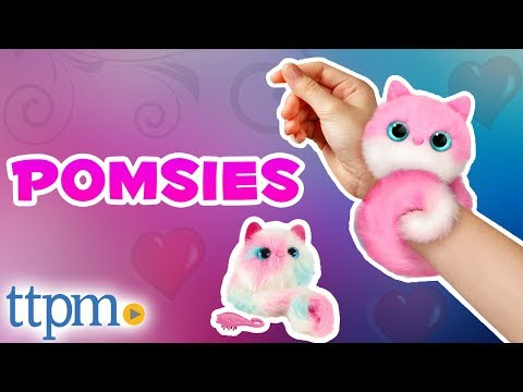 Pomsies - Wearable Virtual Pom Pom Pets [REVIEW] | Skyrocket Toys