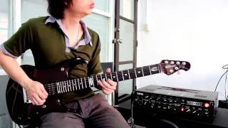 Loso - ซมซาน Solo & Outro By Nut (Guitar Cover)