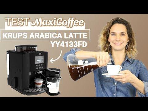 KRUPS ARABICA LATTE YY4133FD | Machine à café automatique | Le Test MaxiCoffee