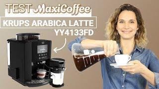 KRUPS ARABICA LATTE YY4133FD | Machine à café grain | Le Test MaxiCoffee