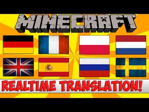 Minecraft Bukkit Plugin - Realtime Chat Translation - Tutorial