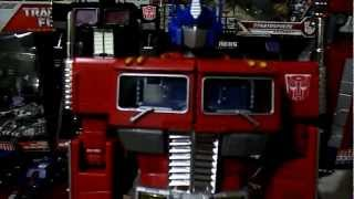 OPTIMUS PRIME MASTERPIECE MP4 VS MP10 ESPAÑOL