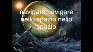 No Time No Space - Karaoke (quindi senza la voce di Franco Battiato)