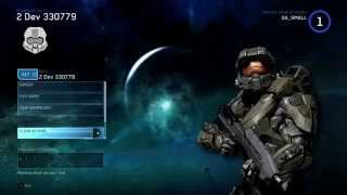 Menu graduatorie campagna e gameplay Halo 4