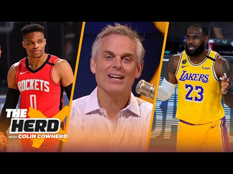 Rockets benefited most from NBA Bubble, Lakers not a championship team – Colin Cowherd | THE HERD