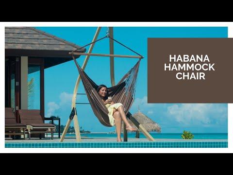 Video Závěsné křeslo Habana - chocolate 2