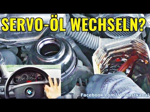 WIESO MAN SERVOÖL WECHSELN SOLLTE! Servo-Spülung BMW E46 / Change and Flush Power Steering Fluid