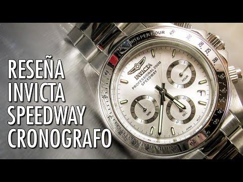 Reseña Invicta Speedway 14381/18389/17023/9211 Reloj Analógico de Cuarzo en Español