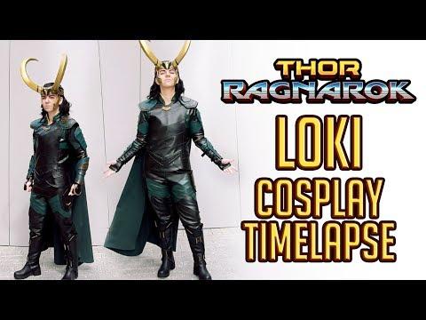 Thor Ragnarok ☆ Loki Cosplay timelapse