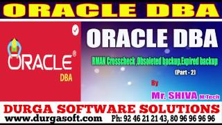 onlinetraining|| RMAN Crosscheck|Obsoleted backup|Expired backup Part - 2 by Shiva