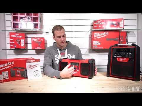 Milwaukee DAB+ Radio für digitales Radio (JSRDAB+)