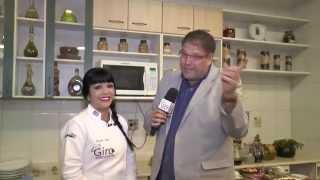 Luciano Faccioli no Giro da Gastronomia