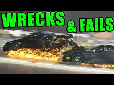 TOP 10 Wrecks & FAIL Moments!