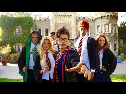 Harry Potter - Hogwarts High School | Lele Pons & Rudy Mancuso