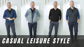 How To Look Stylish Wearing Casual Clothing | 40overfashion