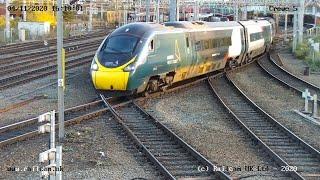 Crewe Camera 5, Cheshire UK   Railcam LIVE