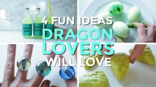 4 Fun DIYS For Dragon Lovers