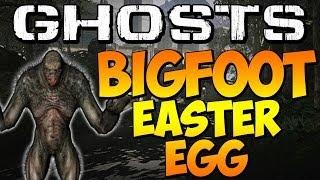 "COD Ghosts - ""SECRET BIGFOOT EASTER EGG"" on PRISON BREAK (Call of Duty) | Chaos"