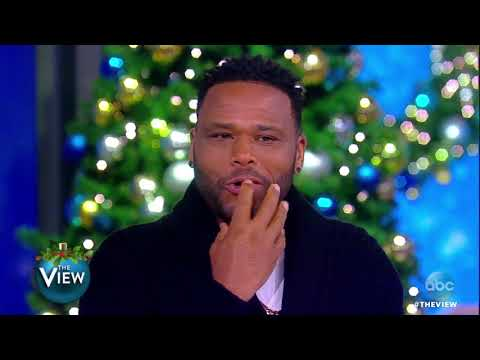 Anthony Anderson Shows Off His Classically-Trained Singing Skills, Golden Globe Nom. | The View
