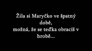 Patrick - Maryčka Magdonova + text