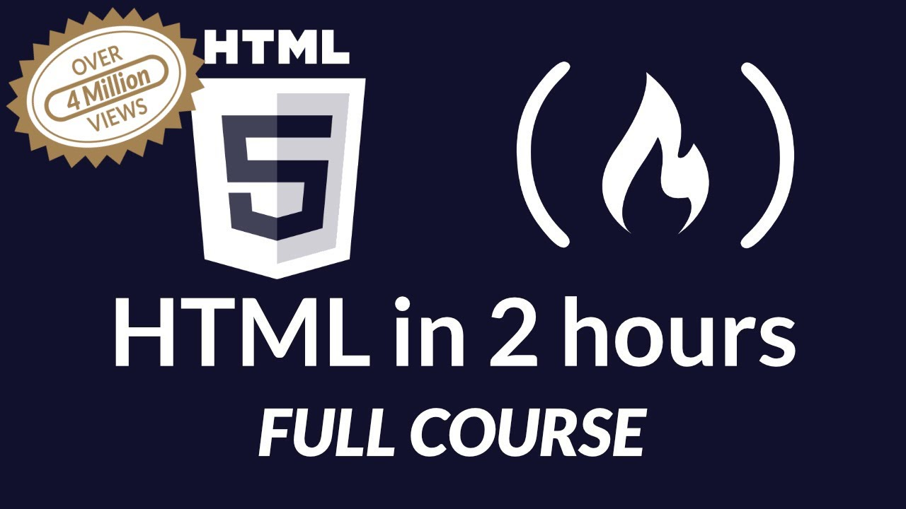 HTML Basics: A Free Full-Length Course