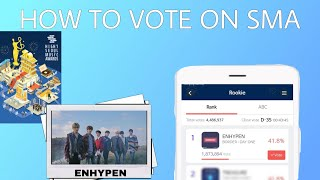 HOW TO VOTE ENHYPEN ON SOUL MUSIC AWARDS (SMA)?