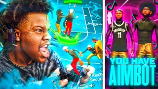 TicTokers accused me of using AIM BOT & GOT EXPOSED! Best Jumpshot On NBA2K21!