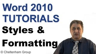 Word 2010 Tutorial | Styles & Formatting | Full Course