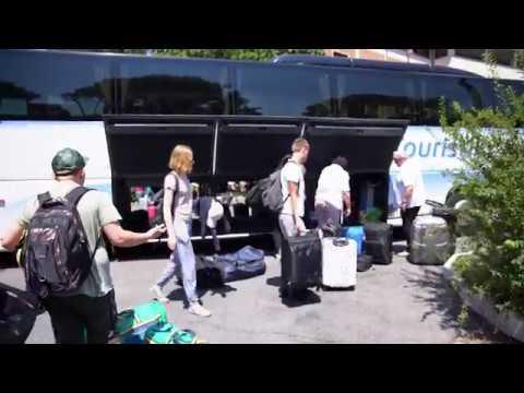 Ministrantenwallfahrt nach Rom 2018 - der erste Tag