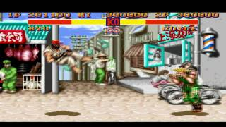 SNES Street Fighter II online adsl14 Ryu and Ken Vs  TheMarkusBoy Guile Part2
