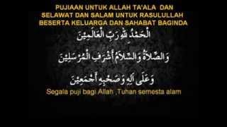 Doa Selepas Sembahyang Fardhu 2
