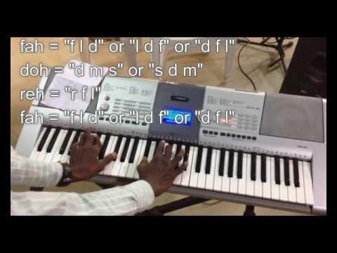 Nigerian Praise and worship Piano progression Lesson 4