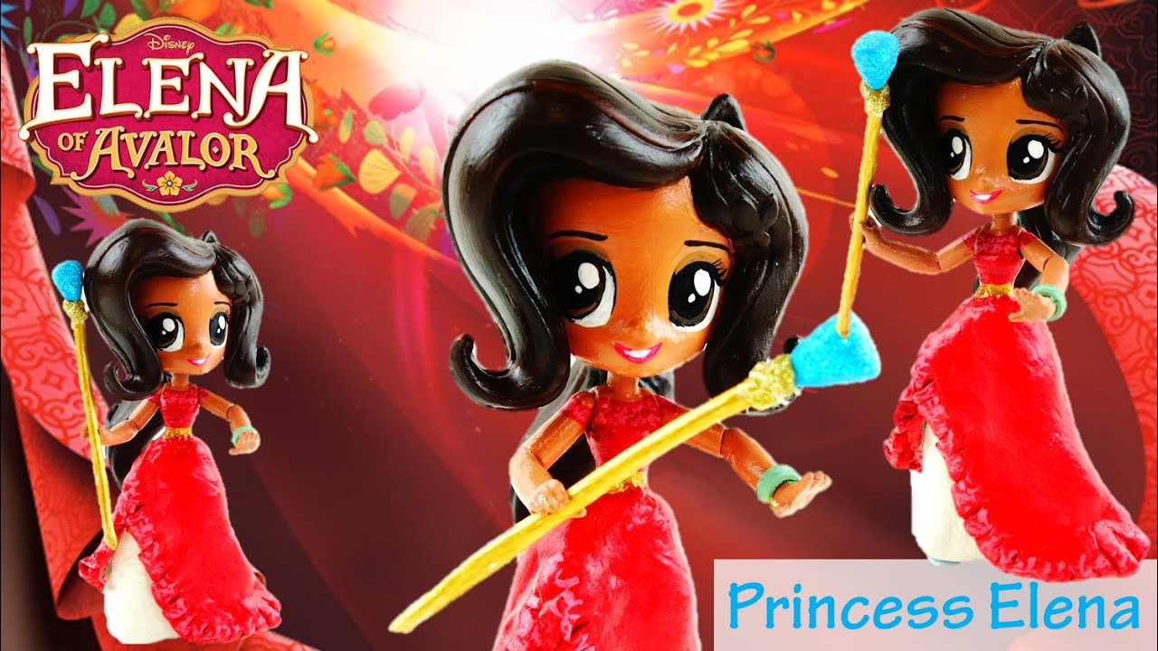 PRINCESS ELENA - Disney Elena of Avalor Custom Doll from My Little Pony Equestria Girls Mini