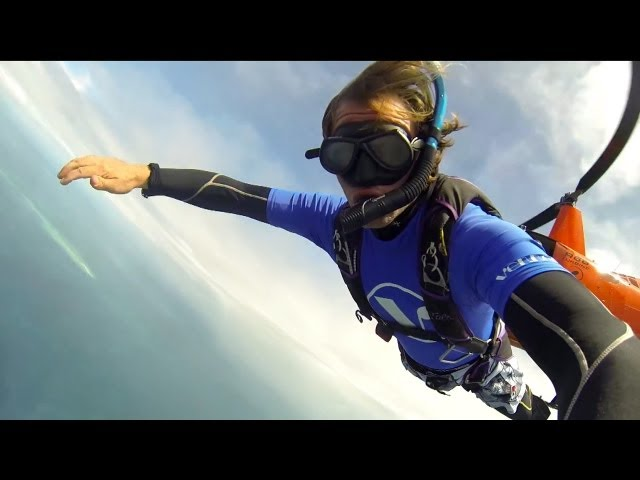 Scuba Skydiving on the Great Barrier Reef in Tropical North Queensland
