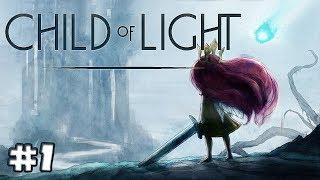 Child of Light Gameplay Footage #1 - Aurora