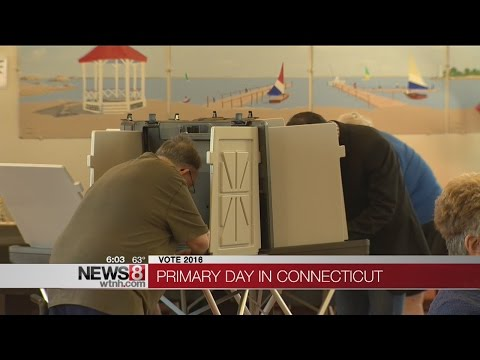 Polls open for Connecticut Primary Day