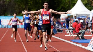 Saint-Etienne 2019 : Finale 1500 m M (Alexis Miellet en 3'43''26)
