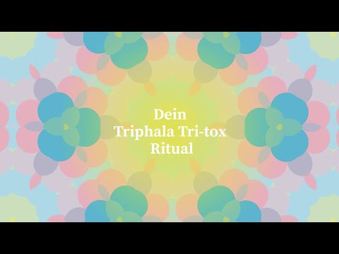 TRIPHALA TRI-TOX ритуал за нанасяне (немски)