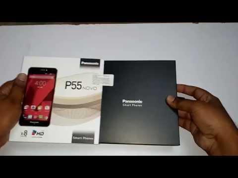 Panasonic p55 novo unboxing