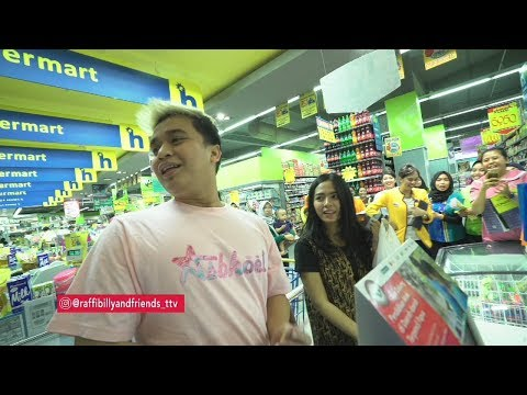 RAFFI BILLY AND FRIENDS - Rusuhnya Billy Belanja di Supermarket! Dikerumunin Fans (24/8/19) Part 2