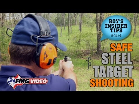 Safe Steel Target Shooting