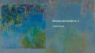 Romances sans paroles, Op. 17