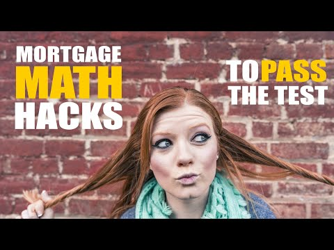 Math on the NMLS / MLO test - pass the first time with these SAFE ...