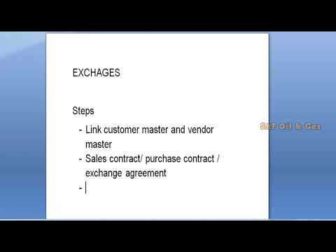 SAP IS Oil and GAS Tutorial 2 - YouTube