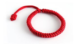 Slim Mad Max Snake Knot Paracord Bracelet | Tibetan Technique