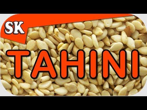 Video HOW TO MAKE TAHINI - Fresh Easy Tahini Recipe