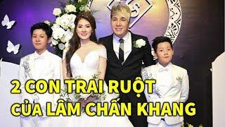 🔴 2 Con Trai của Lâm Chấn Khang và Kim Jun See lộ diện trong lễ cưới của cha mẹ