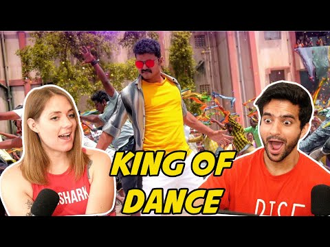Non-Stop Vijay Steps -The Dance Compilation Reaction & Discussion