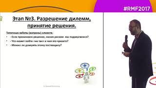 B2B маркетинг, Выступление Евгения Колотилова на Российской неделе маркетинга 2017, тренинг по про