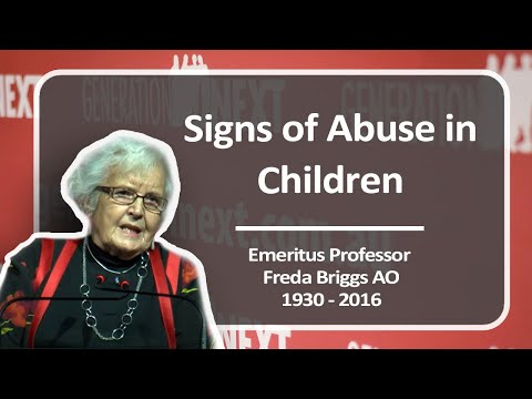 Signs of Abuse in Children